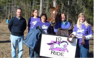 Joy Ride Center Donation #1